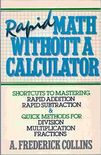 Buy Rapid Math Without a Calculator Book Online at Low Prices in ...