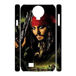 C-EUR Cell phone case Pirates of the Caribbean Hard 3D Case For Samsung Galaxy S4 i9500
