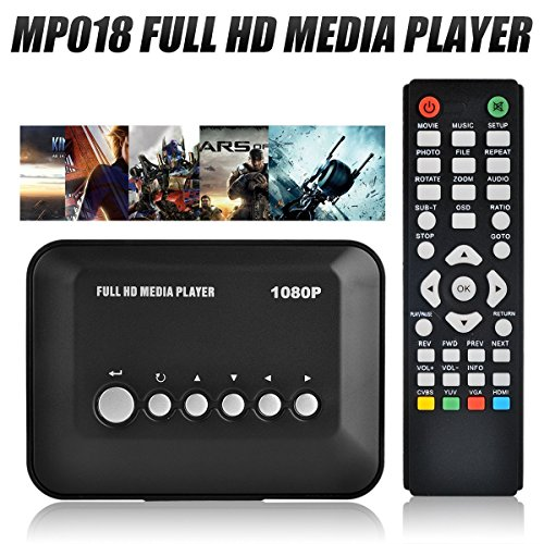 Blusmart® 1080P Full HD Multi TV Media Player HDMI Video Pl