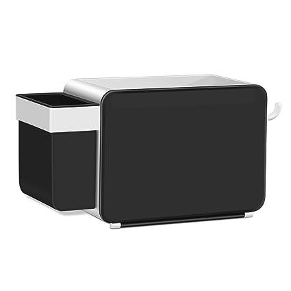 Amazon.com: SUPERVIN Adhesive Bathroom Shelf Organizer Storage Wall ...