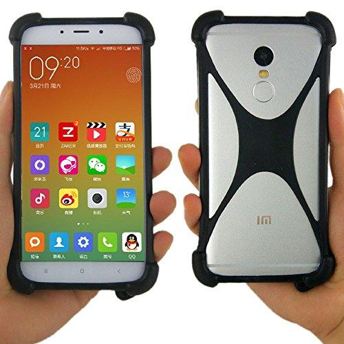 e Case Bumper: Protection for Vivo, Essential, Google Pixel, Pixel 2 XL, iPhone X Plus, LG, Nokia, Samsung Galaxy, More (Black) ()