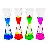Colorful Liquid Motion Tall Bubbler Desk Sensory