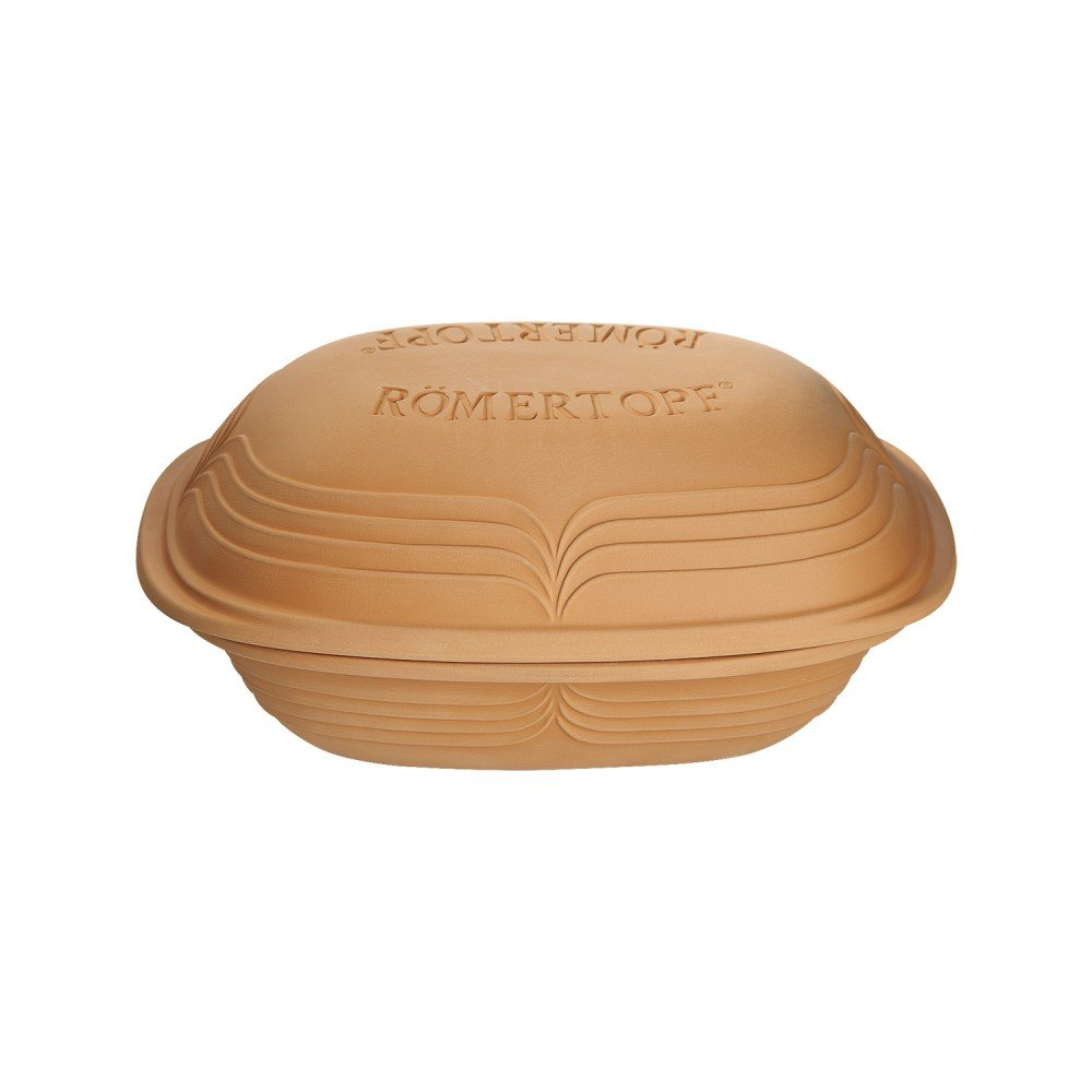 Romertopf Rometopf Modern Clay Baker With Glazed Interior - 5.5 Lbs Capacity RÖMERTOPF