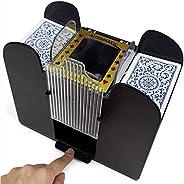 Card Shuffler Electric Poker Dispenser Automatic Shuffling Machine Licensing Playing for Home Party Club Poker