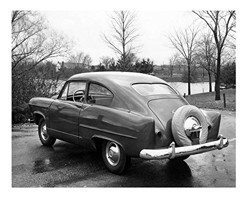1952 Kaiser Frazer Henry J Vagabond Automobile Photo Poster (Frazer Automobile)