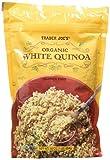 Trader Joe's Organic White Quinoa - 16 oz. - Gluten Free Vegetarian Vegan