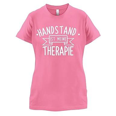 Handstand ist meine Therapie - Damen T-Shirt - Azalee - S