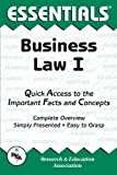img - for Business Law I Essentials (Essentials Study Guides) book / textbook / text book