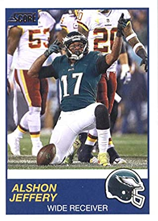 innovative design d2ab8 af070 Amazon.com: Football NFL 2019 Score #187 Alshon Jeffery #187 ...
