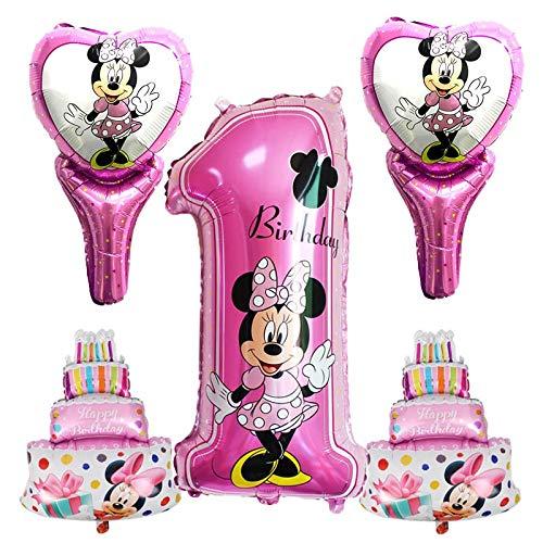 LIZHIOO Conjunto de Globos 5 unids / Set Mickey Minnie ...
