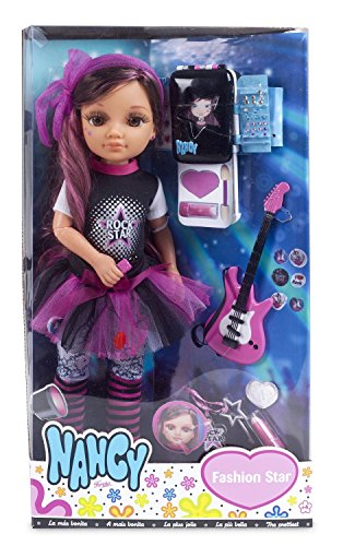 Nancy – Fashion Star Rock Star, muñeca (Famosa 700011543)