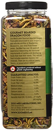 Pictures of Zoo Med Gourmet Bearded Dragon Food 15 Ounces 5118 REPTURFROG 3