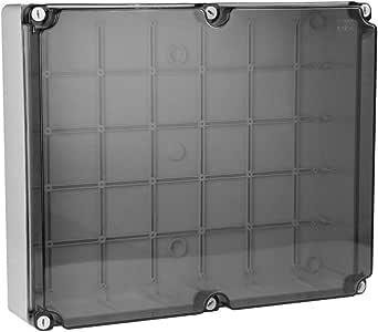 Caja de derivación de cable 460 x 380 x 120 mm, IP66, caja de conexión, caja de derivación, carcasa industrial 015.A.PK Marlanvil 1162: Amazon.es: Bricolaje y herramientas