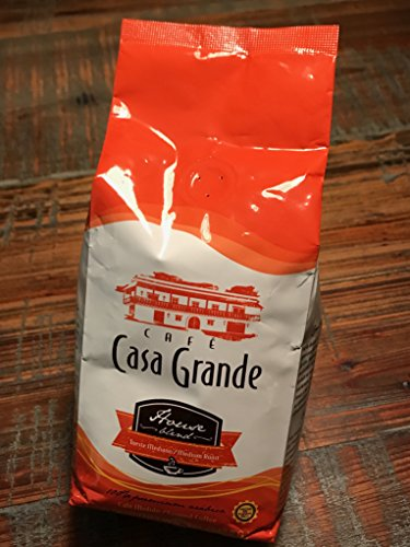 Casa Grande Coffee, House Blend - Made from 100% Premium Arabica Bean - Medium Roast by Gustos Cafe - 12 Oz Bag GROUND COFFEE (Count of 2)