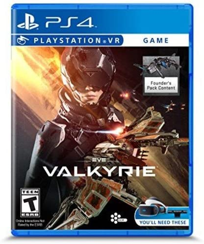 Amazon com: Eve: Valkyrie - PlayStation VR: PlayStation 4: Video Games