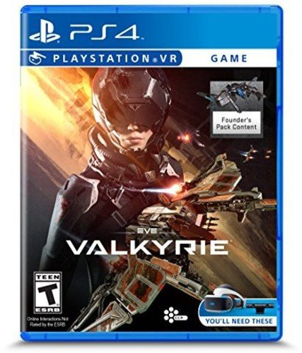 Eve Valkyrie PlayStation VR 4