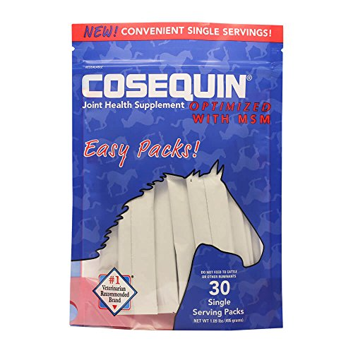 Horses Cosequin - Nutramax 30 Count Cosequin Equine Optimized with MSM Easy Pack