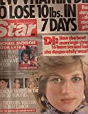 Star 1984 Feb 28 P. Diana,Michael Jackson.Elton John wedding to wife Renate