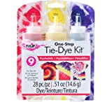 (US) Tulip One Step 3-Color Tie Dye Kits, Psychedelic
