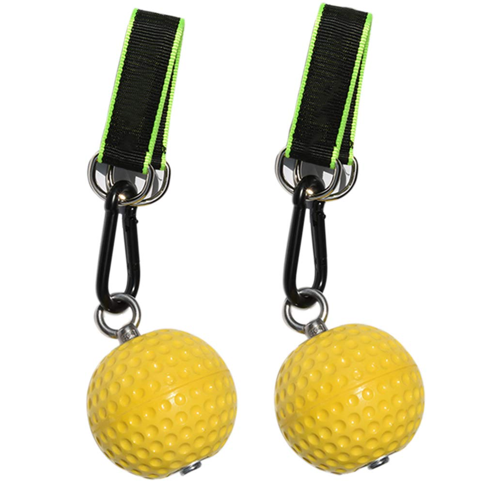 Alexsix Climbing Pull Up Power Ball Hold Grips - Durable and Non ...