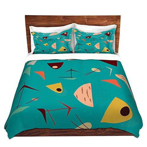 DiaNoche Designs Duvet Cover Brushed Twill Twin, Queen, King