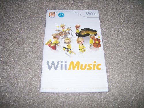 Wii Music Instruction Booklet