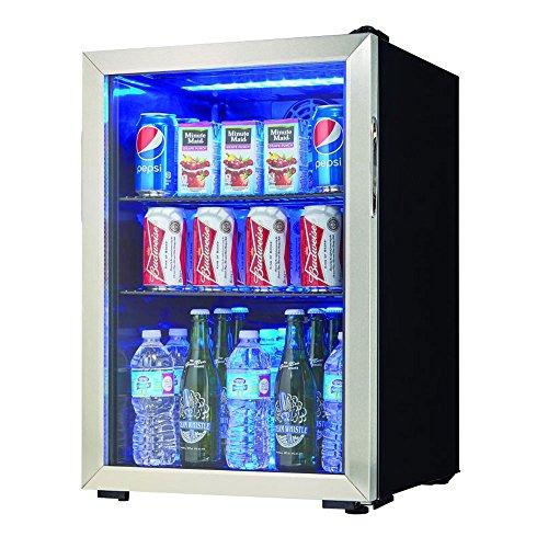 Danby 2.6-Cu. Ft. Beverage Center (Packs) (Mini Refrigerator Glass Door)