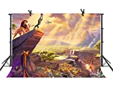 FUERMOR Lion King Simba 7x5ft Background Disney Animation Movies Photography Backdrop Children Photo Video Props GYFU061
