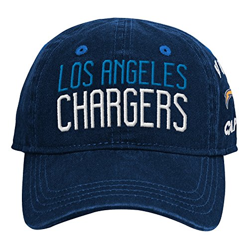 - Outerstuff NFL NFL LA Chargers Infant My First Slouch Hat Dark Navy, Infant One Size