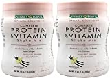 Natures Bounty Solutions Complete Protein Vitamin Shake, Mix Vanilla 16 oz (Pack of 2) For Sale