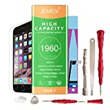 1960 time machine model kit - JEMESI 1960 mAH li-ion battery for iPhone 7 with Repair tool Kits ,Instruction and Screen Protector[24-Month Warranty]