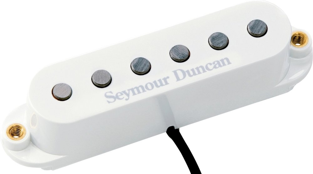 Pick Up Seymour Duncan STK-S6BW Custom stack Plus WHT 11203-16-Wc