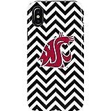Washington State University iPhone X Case - Washington State Chevron Print   Schools X Skinit Pro Case