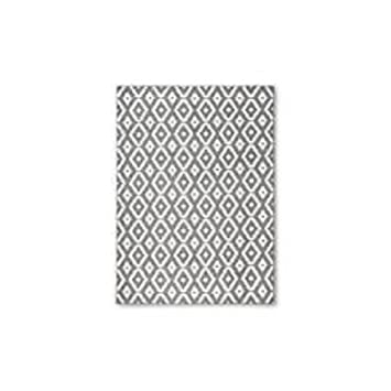 Very Amazon.com: Threshold Diamond Area Rug - Grey (7'X10'): Kitchen  HZ86