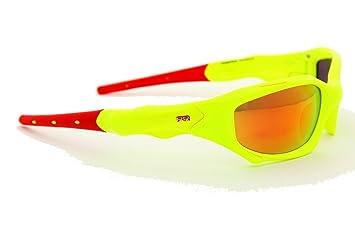 Power Race Maverick - Gafas, Color Amarillo/Rojo: Amazon.es: Zapatos y complementos