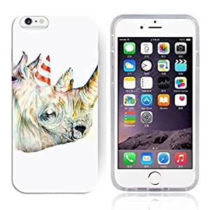 """Animal Art Illustration Pattern HD Durable Hard Plastic Case Cover for iphone 6(4.7"""")"""