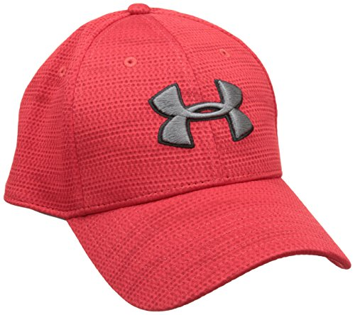 Under Armour Men's UA Printed Blitzing Stretch Fit Cap Medium/Large Red -  1273197-600