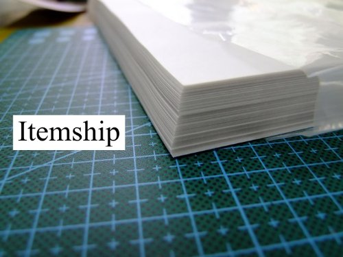 ITEMSHIP 40 Piese A4 Tracing Paper-Rubber Stamp 210X297mm