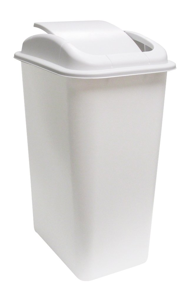United Solutions Wb0235 41 Quart Slim Fit Wastebasket With
