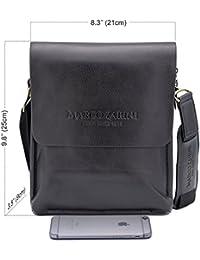 "<span class=""a-offscreen"">[Sponsored]</span>Crossbody Bag For Men Eco Leather Briefcase Shoulder Bag Messenger Bag For iPad Mini"