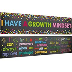 Classroom Banner Confetti-Themed Growth ...