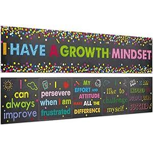 Amazon.com: Póster de confeti con temática de crecimiento de ...