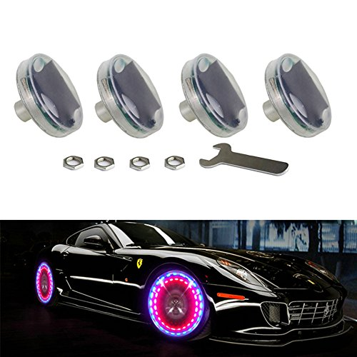 LEADTOPS-Car-Auto-Waterproof-Solar-Energy-Wheel-Light-Lamp-Decorative-Flashing-Colorful-LED-Tire-Light-Gas-Nozzle-Cap-Motion-Sensors-for-Car-Motorcycles-Bicycles-4pcs-pack