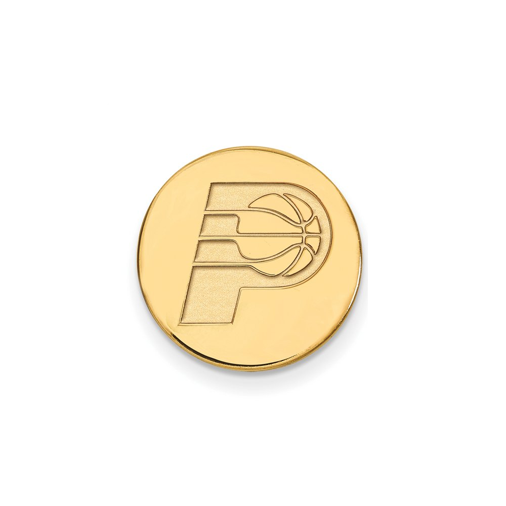 NBA Indiana Pacers Lapel Pin in 14K Yellow Gold by LogoArt