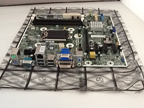 HP 718413-001 System board (motherboard) - With Intel H81 Express chipset - Includes processor heat sink compound - For models with Windows 7 operating system - For ProDesk 400 G1 Microtower PC -