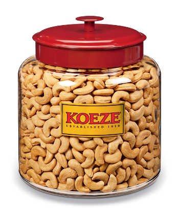 Holiday Reception Cashew- 8 Lb. Jar by Koeze (Image #2)