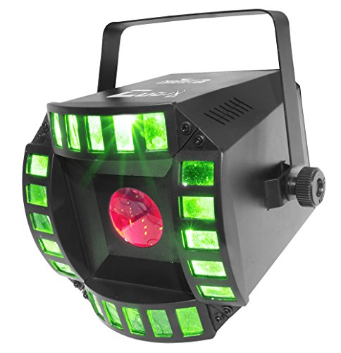 CHAUVET DJ Cubix 2.0 LED Derby/Moonflower Stage Light | Special - Led Moonflower Lighting