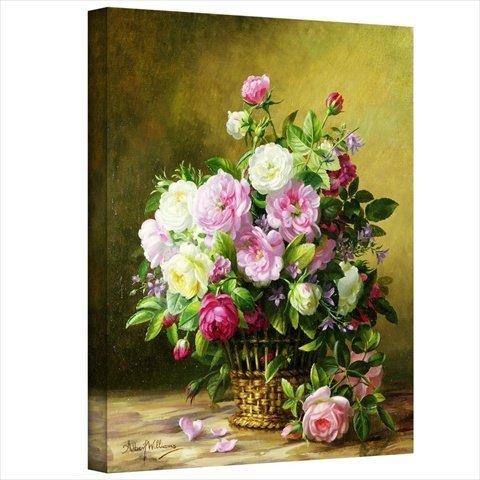 ArtWall Beautiful Pretty spring floral wall art - Pretty flower wall decorations