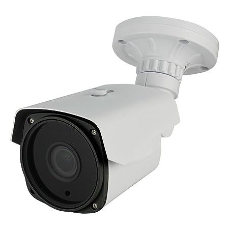 Dripstone 2.1MP Sony Sensor 1080p 4-in-1 Bullet HD-TVI, CVI, AHD, 960H Security Camera 2.8-12mm Varifocal Lens IR-Cut 200ft Night Vision Range IP66 Outdoor Indoor