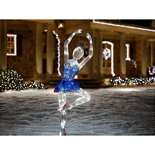 Outdoor Lighted Ballerina
